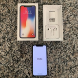 Apple Iphone X 256gb Preto- Original Completo Garantia Apple