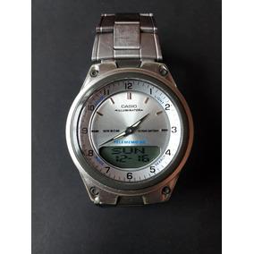 df62becde97 Relógio Casio Telememo Aw-80 - Usado
