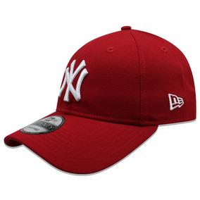 7749c9e2572e0 Gorra New Era Yankees Roja en Mercado Libre México