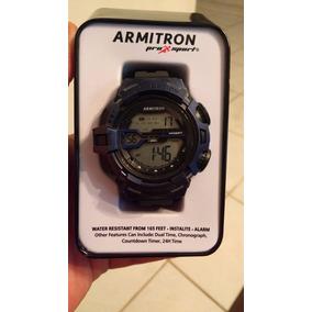 Reloj Armitron Pro-sport 40/8363 Azul Marino * Envio Gratis*