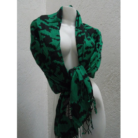Divided Pashmina Chevron Verde