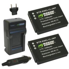 Batería Wasabi Power (paquete De 2) Y Cargador Para Nikon En