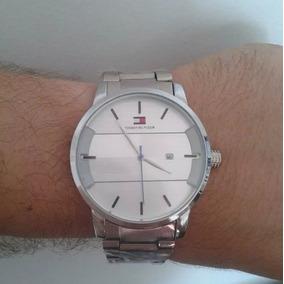 Relógio Masculino Aço Tommy Hilfiger Réplica 1º Linha