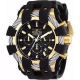 9c4c00194d3 Relógio Invicta Bolt 23860 Original Banhado Ouro 18k Maleta