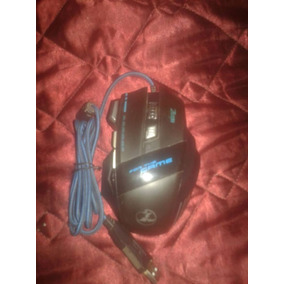 Mouse De Gaming Con Led Óptico 5500 Dpi Usado