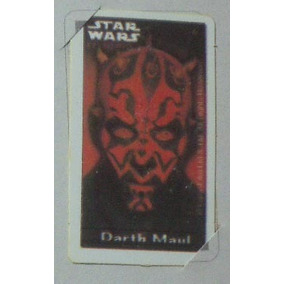 Card Número 6 Do Álbum Star Wars Episódio I Elma Chips