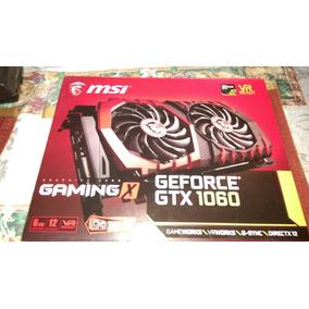 Tarjeta Grafica Msi Geforce Gtx 1060 6g Usado