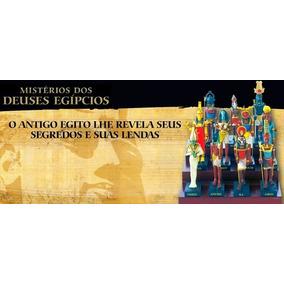 Coleção Salvat - Deuses Do Egito 8 Estatuetas Frete Grátis