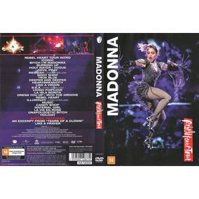 Dvd Madonna Rebel Heart Tour Semi Novo Original E Completo