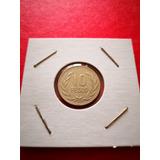 Moneda Híbrida De 10 Pesos 1994