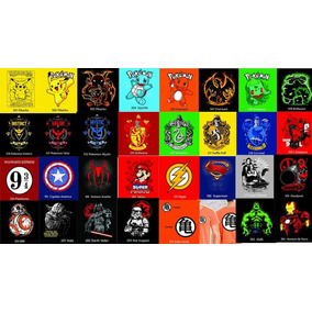 Kit 10 Camisas Camiseta Herois Personagens Diversos Frete Gr