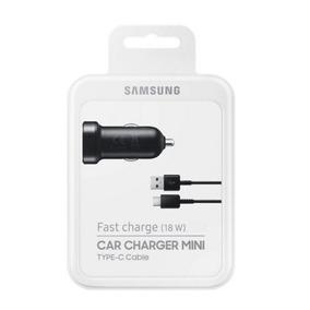 Cargador Celular Auto Cable Tipo C Rapida Carga Samsung