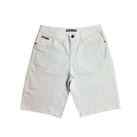 Bermuda Jeans Masculina Oakley Stretch 46 Branca Original