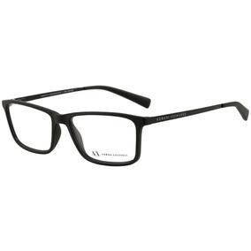 Armani Exchange Ax 3027 L - Óculos De Grau 8078 Preto Fosco 09ae1ee7b1