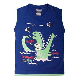 45349189f12d5 Camiseta Infantil Bebê Menino Estampas Diversas Tamanho 1 · 2 cores