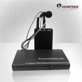 Microfonos Inalambricos Uhf Diadema Y Solapa Soundtrack