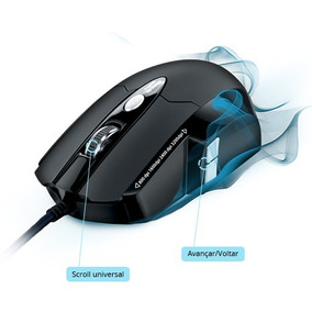 Mouse Gamer Multilaser Pofissional Top
