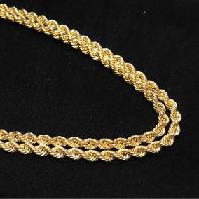 Collar Cadena Torsal Italiano Oro 10k 65 Cm