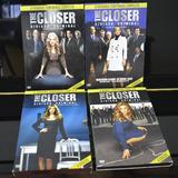 Seriado The Closer 1ª A 4ª Temporada Original 16 Dvds
