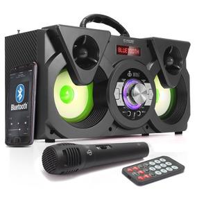 Caixa Som Bluetooth Portatil Infokit M604 Microfone Grátis