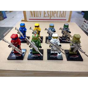 Halo Lego Compatibles Set 8 Figuras Envío Gratis .