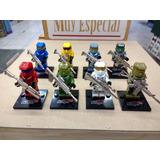 Halo Lego Compatibles Set 8 Figuras ¡envío Gratis!