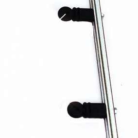 Kit 10 Haste Cerca Elétrica Aço Galvalume 4 Isoladores 70cm