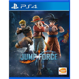 Jump Force Ps4 - Juego Fisico - Cjgg