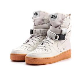 Nike Sf Air Force 1 Wmns (light Bone/gum)