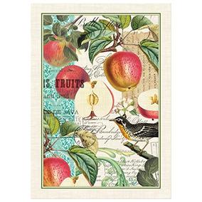 Michel Obras De Diseño Sweet Apple Algodón Toalla De Cocina