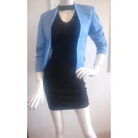 Hermoso Saco Color Azul Dama