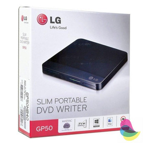 Dvd-rwriter Lg Ultra-slim 24x-8x Usb 2.0 Gp65nb60