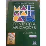 Matemática - Contexto E Aplicações - Dante - Ensino Médio