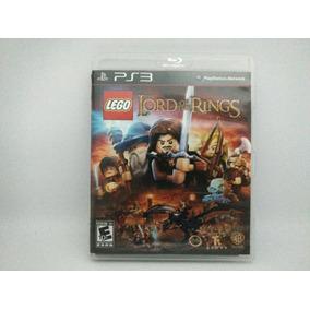 Jogo Ps3 Lego The Lord Of The Rings Mídia Física