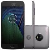 Smartphone Motorola Moto G5 Plus Tv 32gb Xt1683 - Vitrine