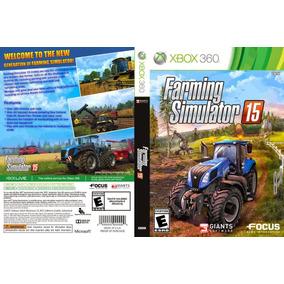 Farming Simulator 15 + Jogos Xbox 360 Em Md Via Licença