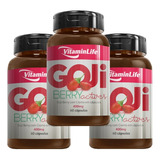Seca Barriga Goji Berry - 180 Cápsulas - Vitamin Life