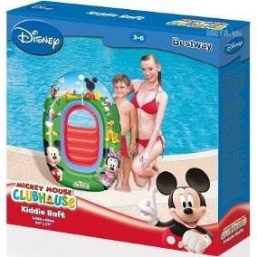 Bote Inflable De Mickey Minnie Bestway Piscina