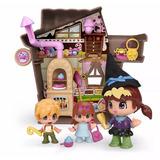 Muñeca Pinypon Juguetes Casa Hansel Y Gretel + Accesorios
