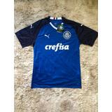 Camisa Palmeiras 2019 Goleiro Oficial Azul - Super Desconto 9b6e49a312e61