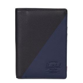 Billetera Herschel Negra Hombre Raynor Passport 1037301890os