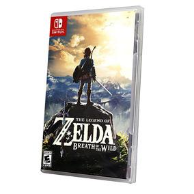 The Legend Of Zelda Breath Of The Wild Nintendo Switch Novo