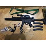 Rifle De Airsoft Elétrico Cybergun Modelo Gsg 522 Integrated