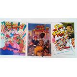 Recortables Street Fighter De Los Años 90 Original