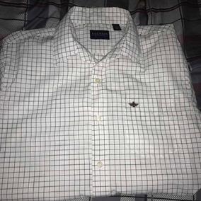 Camisa Dockers Cuadros Blancos