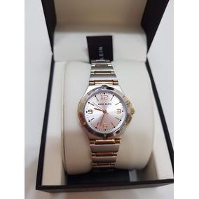 8703406578c Relogio Anne Klein Feminino Dourado - Relógios no Mercado Livre Brasil