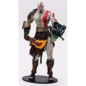 Kratos Vs Medusa God Of War Original Neca Pronta Entrega