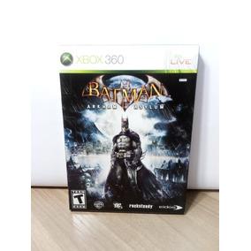 Batman Arkham Asylum Edição Especial Original Xbox 360
