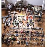 Set Completo Star Wars Kenner Vintage Y Hasbro Naves Figuras