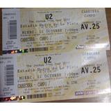 Entradas U2 11/10 No Es Reventa